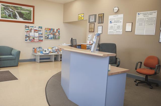 Hub photo desk