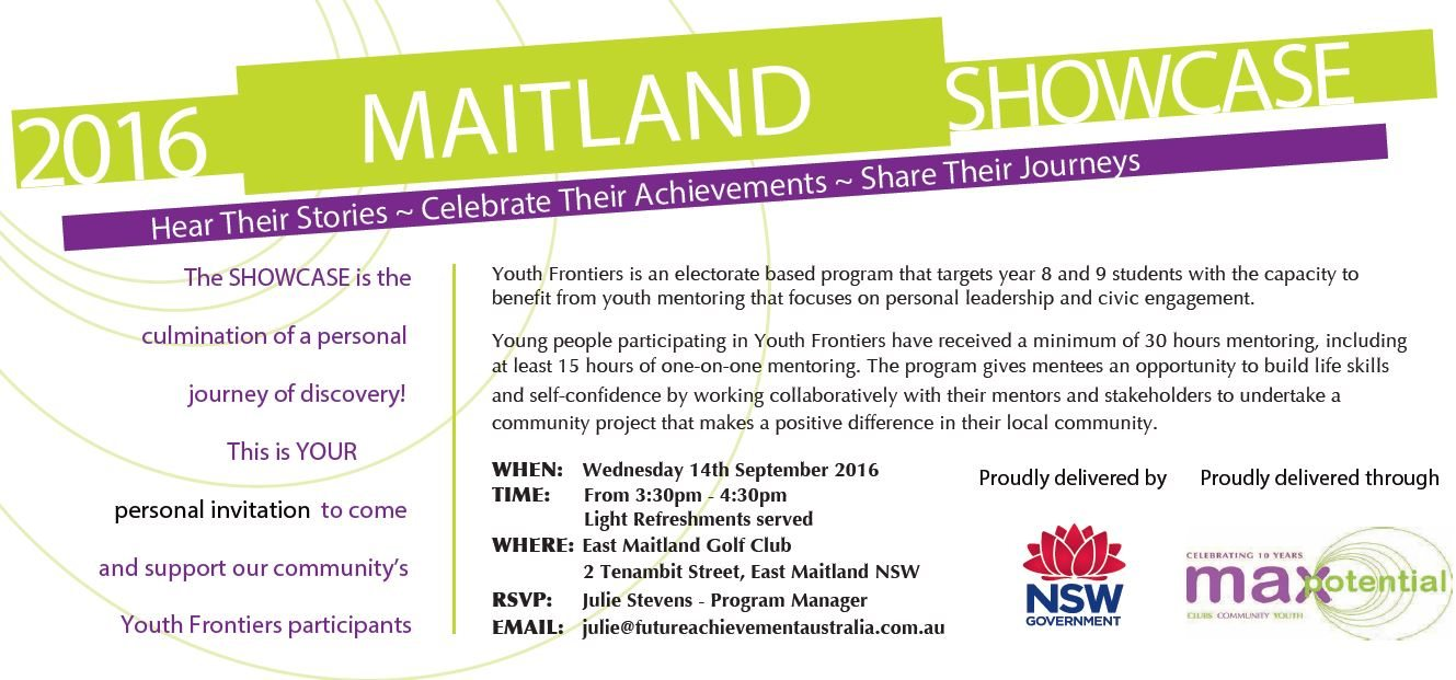 maitland showcase