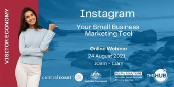 Instagram Your Small Business Marketing Tool - Central Coast -